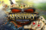 Solitaire Mystery: Stolen Power combines solitaire with hidden object gameplay! Save the world by collecting powerful cards.