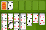 Traditional card game at its best, you'll have hours of fun when you play Solitaire Pro today!