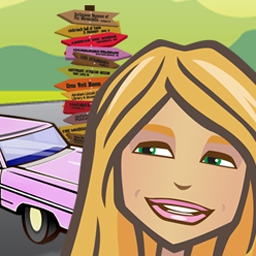 Something Special - Explore wacky landmarks in Something Special - Zoe's American Adventure! - logo