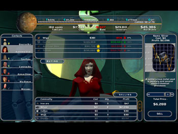 Space Trader screen shot