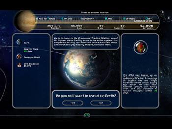 Space Trader screen shot