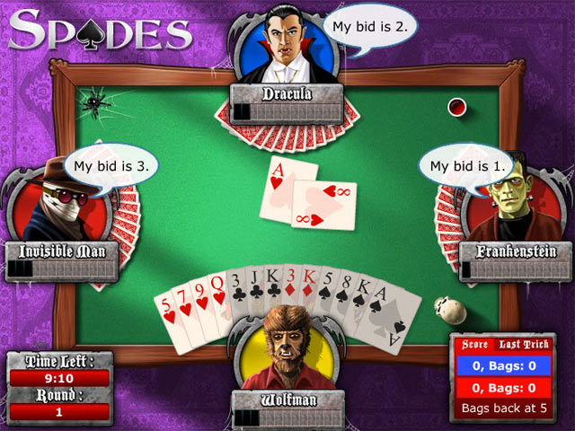 Cash Tournaments - Spades screen shot