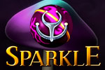 In Sparkle, destroy chains of evil orbs before they create eternal night!
