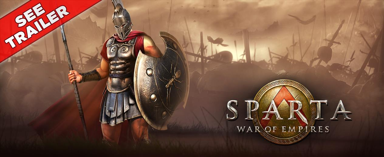 Sparta: War of Empires - War is a way of life here. - image