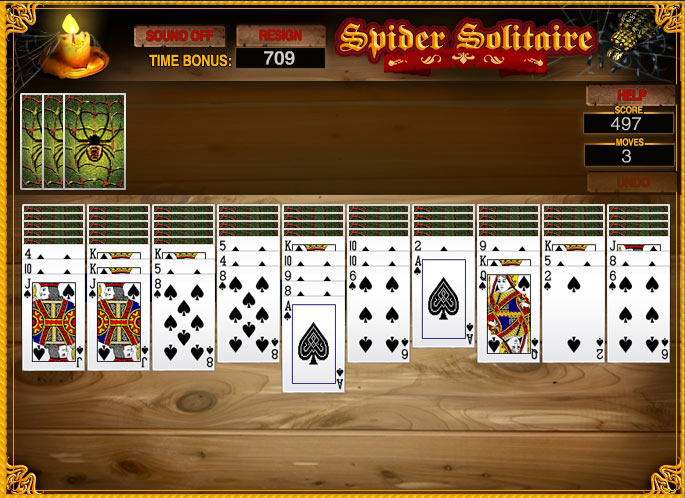 Cash Tournaments - Spider Solitaire screen shot