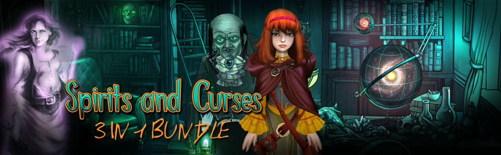 Spirits and Curses 3 in 1 Bundle