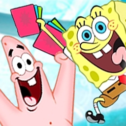 SpongeBob Atlantis SquareOff - Join SpongeBob and face off against enemies by building the ultimate deck. - logo