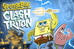 SpongeBob: Clash of Triton is a fun action-arcade game for the whole family! Help SpongeBob and Patrick break Triton's spell over Bikini Bottom.