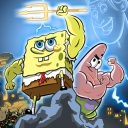 SpongeBob: Clash of Triton - logo