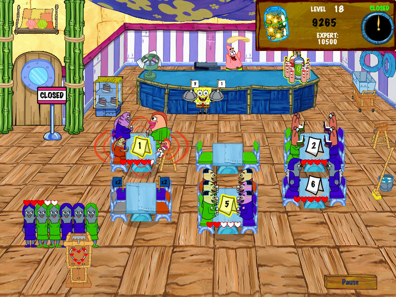 SpongeBob Diner Dash 2 screen shot