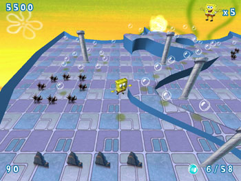 SpongeBob Obstacle Odyssey 2 screen shot