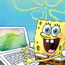 SpongeBob Typing - Learn typing and keyboarding skills from SpongeBob SquarePants! Improve your typing speed and accuracy today. - logo