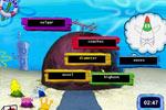 Screenshot of SpongeBob Typing