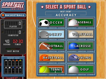 Sportball Challenge screen shot