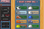 Screenshot of Sportball Challenge