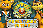 Sprill and Ritchie - Adventures in Time is a fun and funny hidden object game. Collect objects from different ages and set history right!
