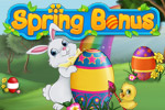 Spring is in the air! Hop around beautiful countryside with the Easter Bunny in Spring Bonus, an adorable match-3 game.