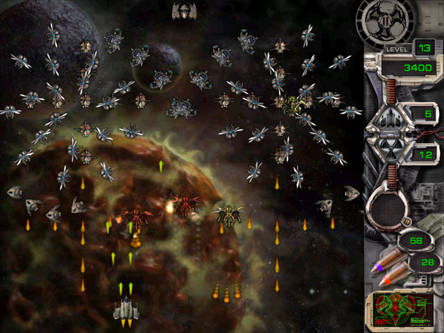 Star Defender 2 screen shot