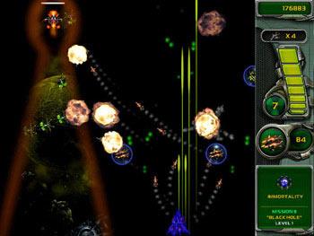 Star Defender 4 screen shot