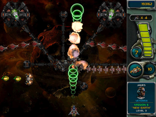 Star Defender III screen shot