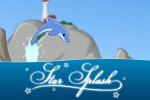 In Star Splash, play as a dolphin and use acrobatic skills to collect stars by jumping, flipping, dashing, and diving!