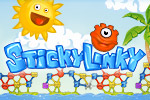 Give evolution a hand!  Help these colored globs develop into a higher form of life in the puzzle game Sticky Linky.