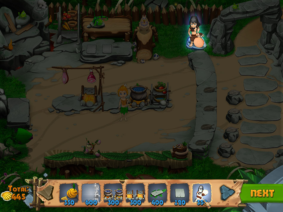 Stone Age Cafe screen shot
