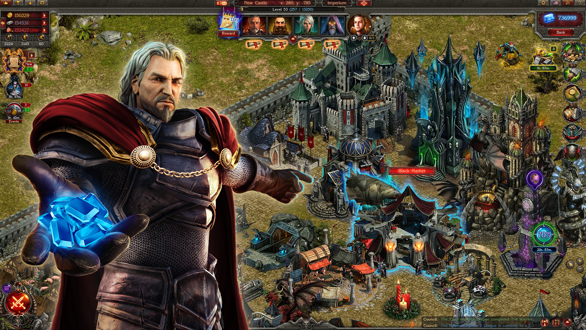 Stormfall: Age of War screen shot