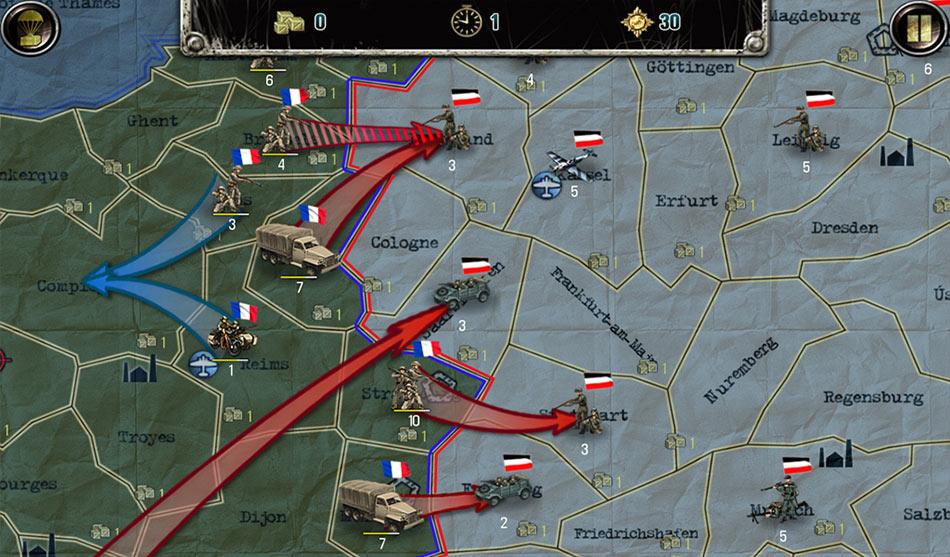 Strategy and Tactics: World War II screen shot