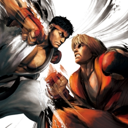 Street Fighter IV - Street Fighter® IV brings the legendary fighting series back to its roots! - logo