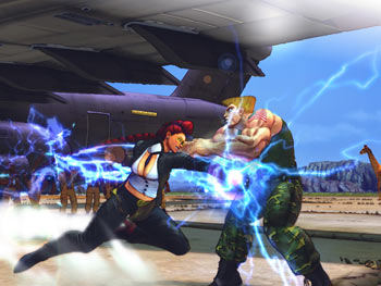 Street Fighter IV screen shot