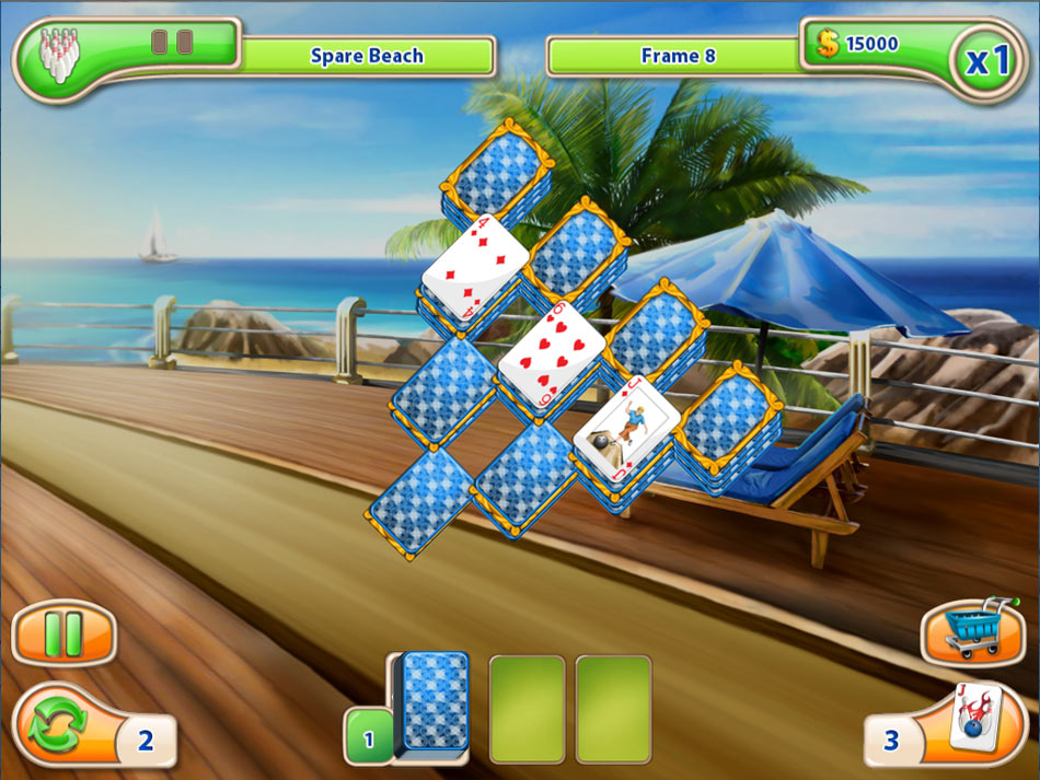 Strike Solitaire screen shot