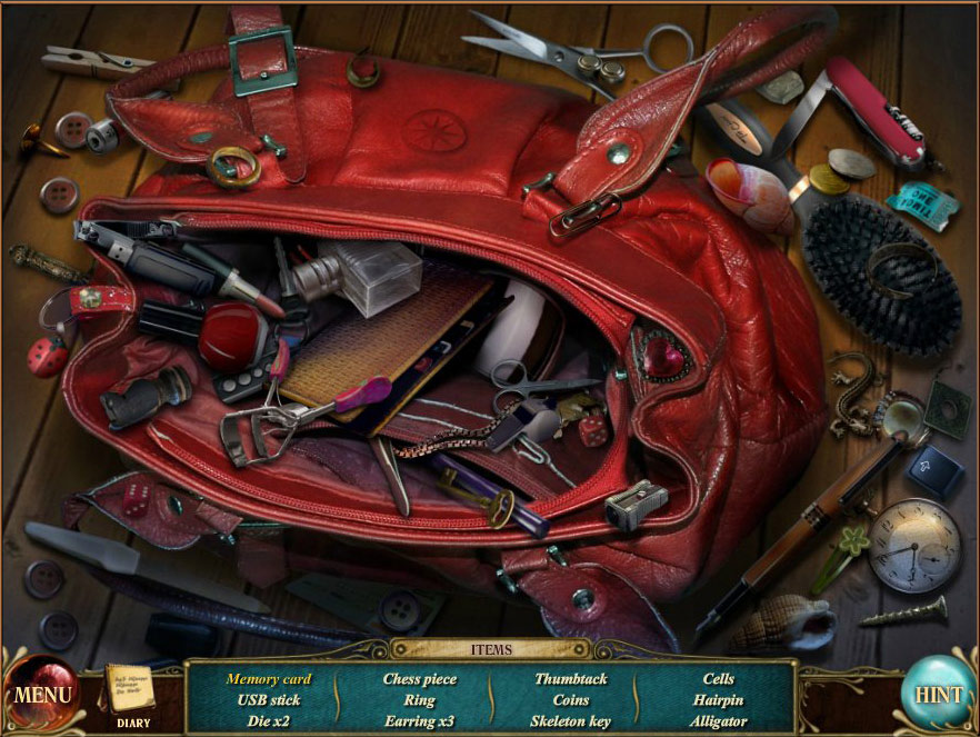 Suburban Mysteries: The Labyrinth of the Past screen shot