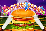 Serve up burgers & fries in Success Story, a tasty time management game!