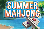 Get ready for 60 levels of tile-matching, mini-game, hidden picture fun!  It's the season for Summer Mahjong.