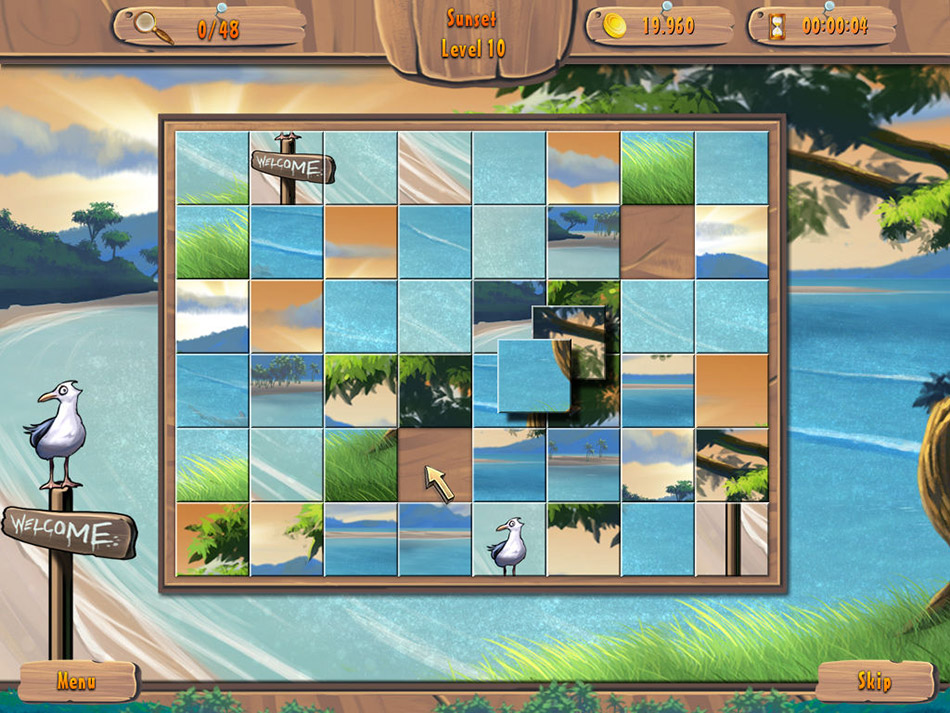 Summer Mahjong screen shot