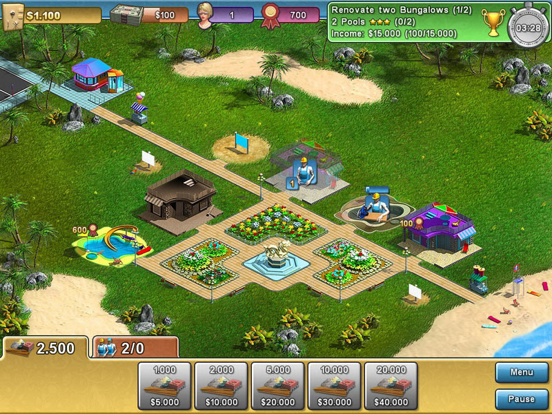 Summer Resort Mogul screen shot