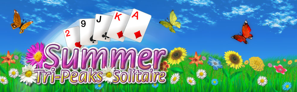 Summer Tri-Peaks Solitaire