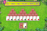 Screenshot of Summer Tri-Peaks Solitaire