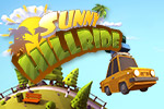 In Sunny Hillride, you're on a crazy family vacation!  Fly down the road and jump over the bumps in this fun arcade game.
