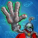 Super Gloves Hero - logo