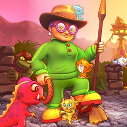 Super Granny 6 - Super Granny® 6 is a puzzle-solving, item-tossing adventure for all ages! - logo