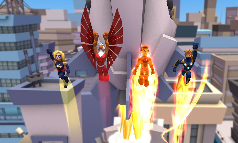Marvel Super Hero Squad Online screen shot