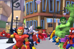 Captura de pantalla de Marvel Super Hero Squad Online