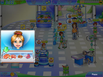Supermarket Management screen shot