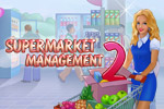 Supermarket Management 2 features plenty of time management gameplay and whimsical characters. Start small and expand into a megamart!