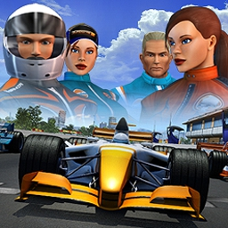 Superstar Racing - Superstar Racing is a free & fast racing MMORPG. Chat and race with others! - logo