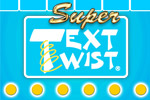 Unscramble letters to make words in the original Super TextTwist!