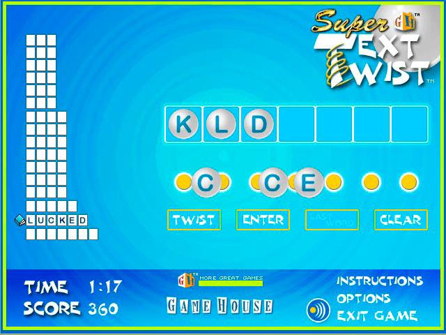 Super TextTwist screen shot