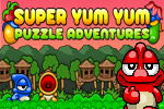 Eat your way through every fruity, fiendish puzzle in Super Yum Yum!